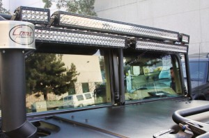 H1 Hummer OEM Heated Windshields