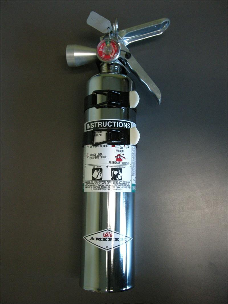 Halatron Fire Extinguisher