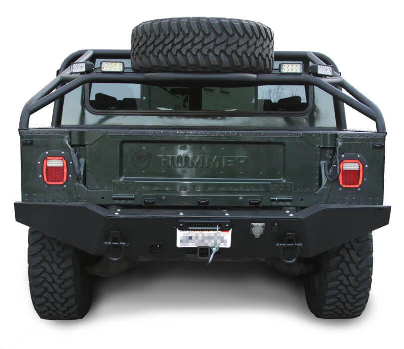 Predator Inc Hummer H1 Search And Rescue Rear Winch Bumper