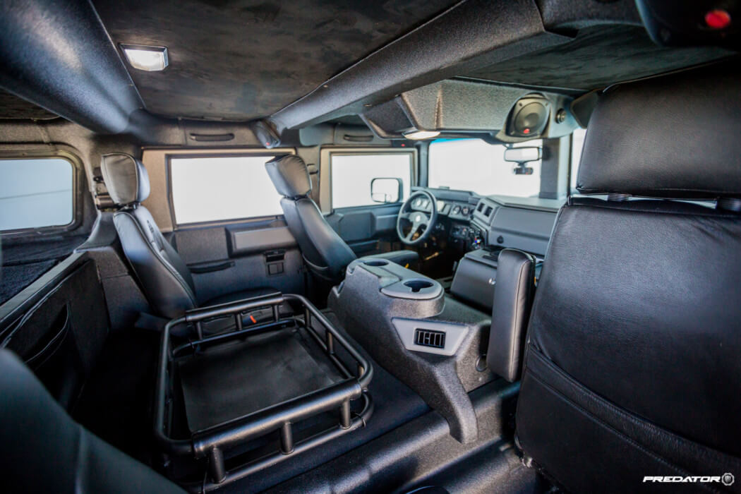 Hummer H1 Gets A Unique Line X Exterior Amp Interior Coating