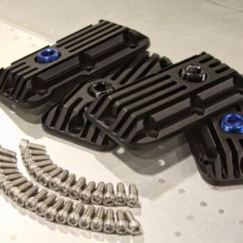 Billet Aluminum Geared Hub Heat Sinks