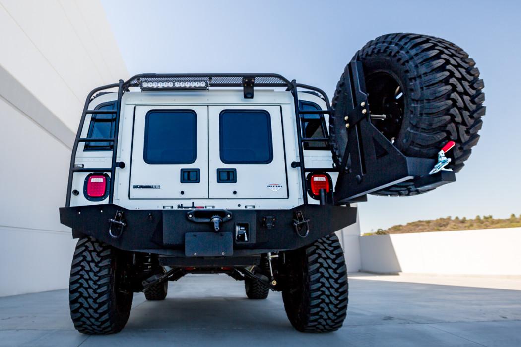 predator inc hummer h1 drop down tire carrier. Black Bedroom Furniture Sets. Home Design Ideas