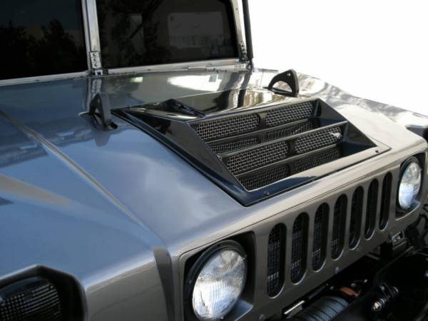 Predator Direct Flow Hood Scoop - Predator Inc: Hummer ...