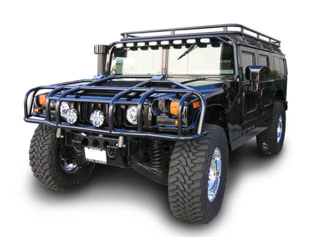 Predator Inc Hummer H1 Safari Basket Roof Rack