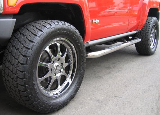 Stainless Steel Side Step Running Boards