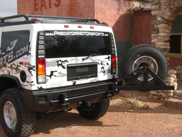H2 Tire Carrier