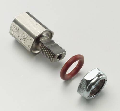 Chrome CTIS Valve Stem