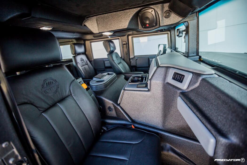 Hummers For Sale >> Hummer H1 gets a unique Line-X Exterior & Interior coating